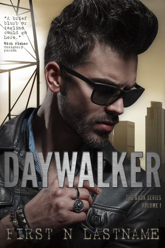 Daywalker - UF premade book cover for self-published authors by Artful Cover