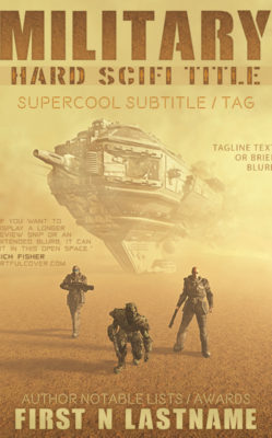 Military Hard SciFi Title $199