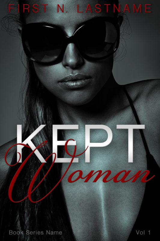 Kept Woman - erotic romance premade book cover for self-published authors by Artful Cover
