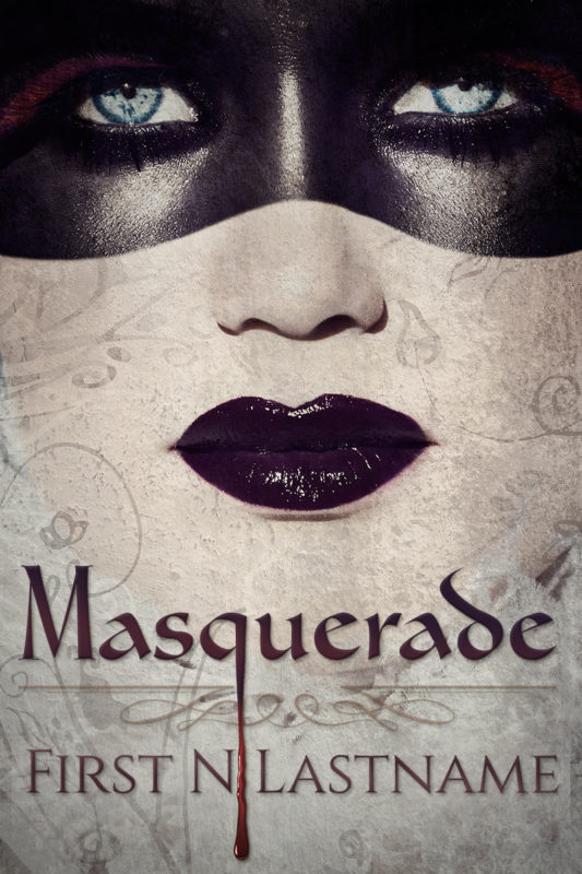 Masquerade - mystery premade book cover for self-published authors by Artful Cover
