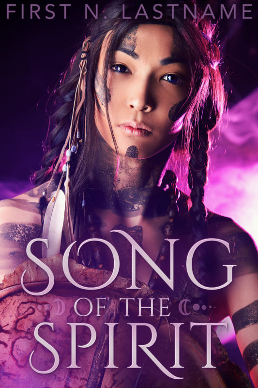 Song of the Spirit - a diverse fantasy premade book cover for self-published authors by Artful Cover