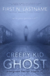 Creepy Kid Ghost - an example of the Basic custom book cover design package for self-publishing indie authors by Artful Cover