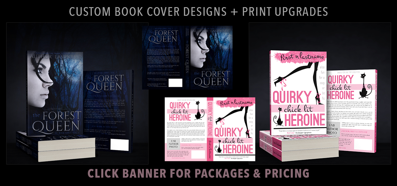 Artful Cover custom papaerback cover designs for self-published indie authors