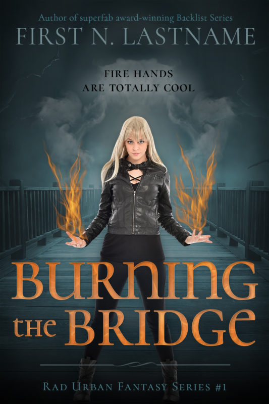 YA urban fantasy premade book cover for indie authors by Artful Cover