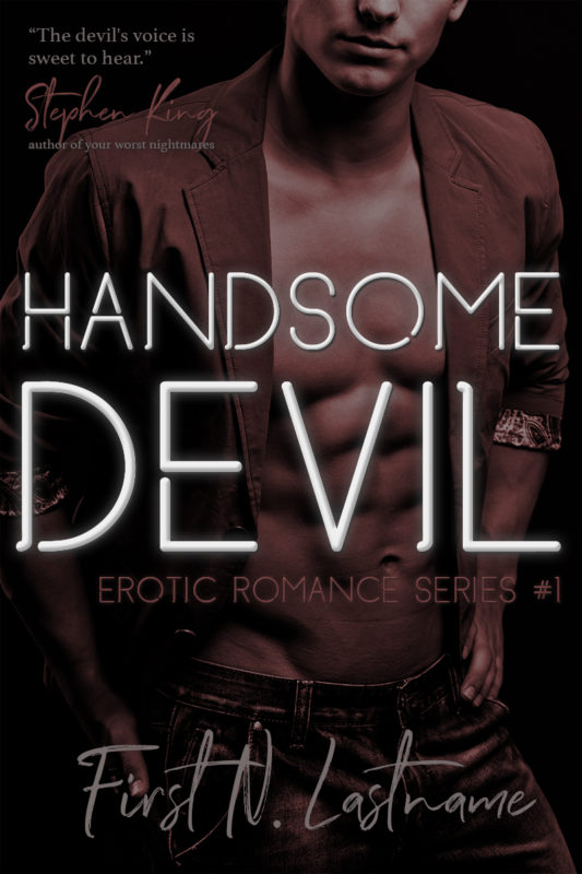 erotic PNR premade book cover for indie authors by Artful Cover