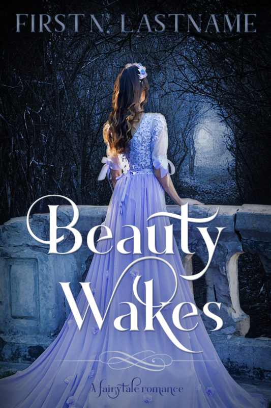 Sleeping Beauty retelling romance premade book cover for indie authors by Artful Cover