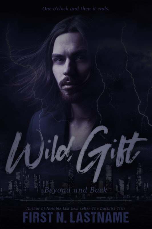 Urban paranormal romance premade book cover for indie authors by Artful Cover