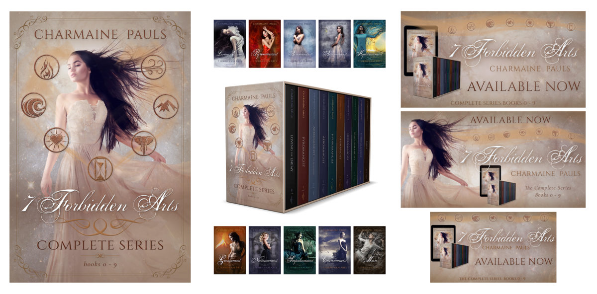 Book series branding design by Artful Cover